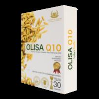 Olisa Q10 โอลิซ่า คิวเทน สารสกัดจากจมูกข้าว ช่วยให้นอนหลับลึก บำรุงหลอดเลือด หัวใจ ลดไขมัน ลดคลอเรสเตอรอล ลดไตรกลีเซอไรด์
