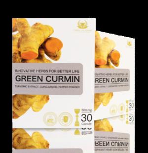 Green Curmin กรีนเคอมิน กรดไหลย้อน โรคกระเพาะ ลดการอักเสบ ตับอักเสบ
